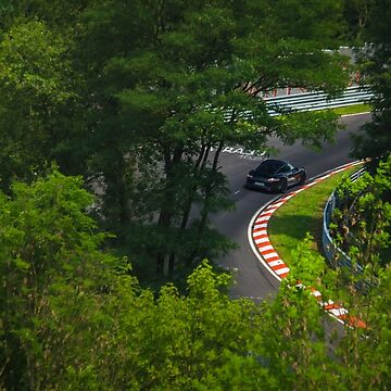 Porsche through the trees by BridgeToGantry
