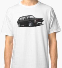 VW Golf GTI MK1 illustration black Classic T-Shirt
