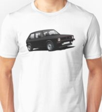 VW Golf GTI MK1 illustration black T-Shirt