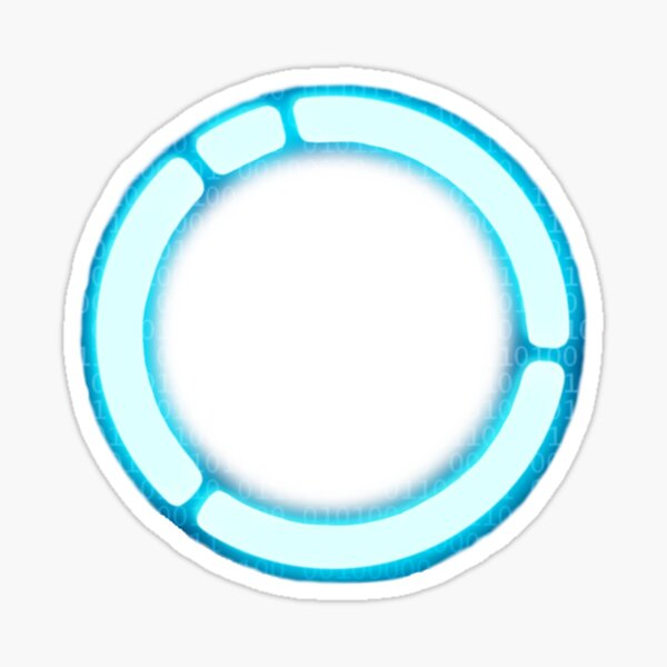 Android LED / Detroit Become Human circle Sticker