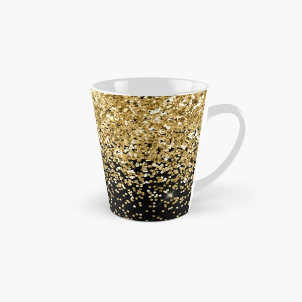 Gold Glitter  Tall Mug