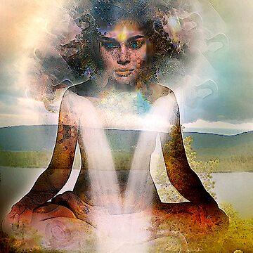 Namaste by Annabellerockz