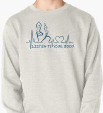 Yoga: Listen to Your Body ECG Yoga Mantra Pullover