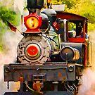 Steam Train by artstoreroom
