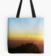 Sunrise at Mt Warning Tote Bag