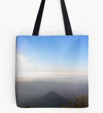 Blue sunrise - Mt Warning Tote Bag