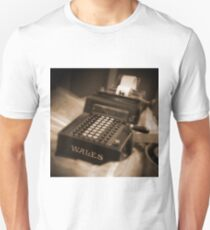 Adding Machine Unisex T-Shirt