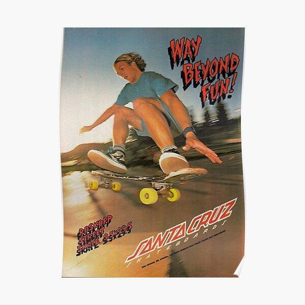 skate aesthetic Poster