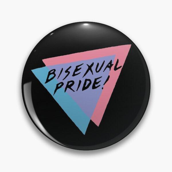 Vintage Bisexual Pride Design Pin