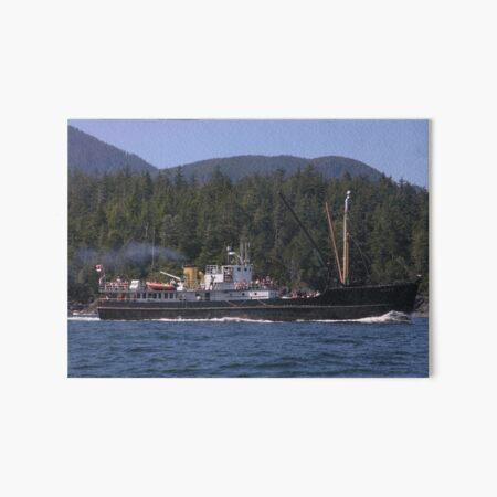 MV Uchuck III - Nootka Sound, BC, Canada Art Board Print