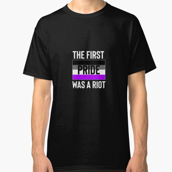 Asexual Pride Riot Classic T-Shirt