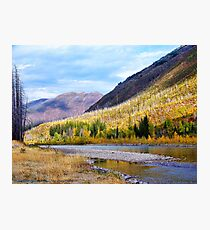Glacier Park Autumn 4 Photographic Print