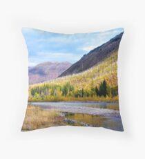 Glacier Park Autumn 4 Throw Pillow