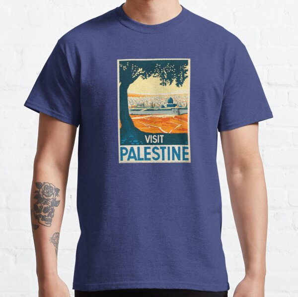 Visit Palestine Classic T-Shirt