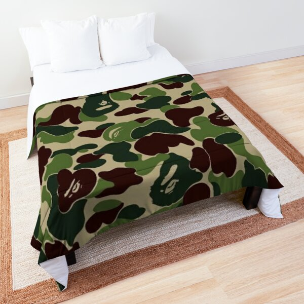 Camo bape Comforter