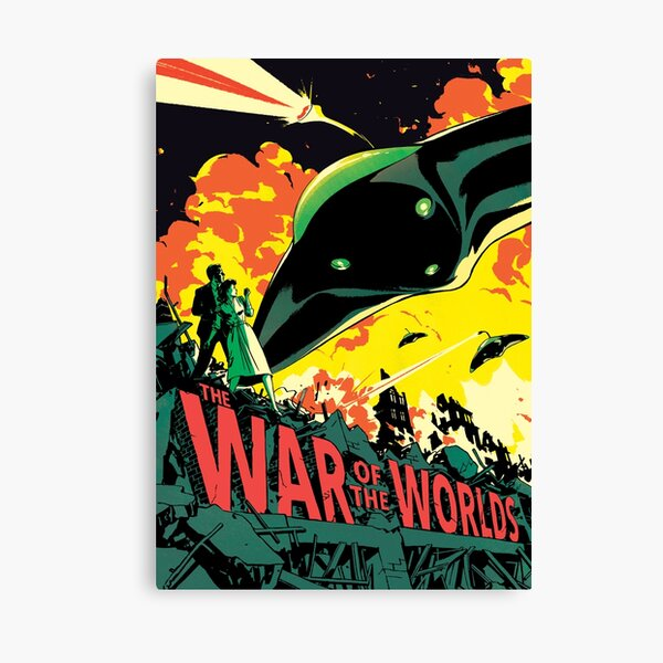 MOVIE POSTER | THE WAR OF THE WORLDS | 1953 Canvas Print