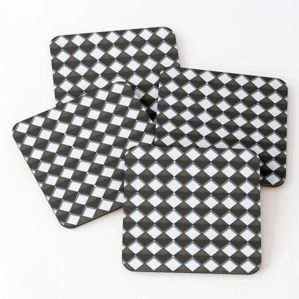 Black Diamond Coasters (Set of 4)
