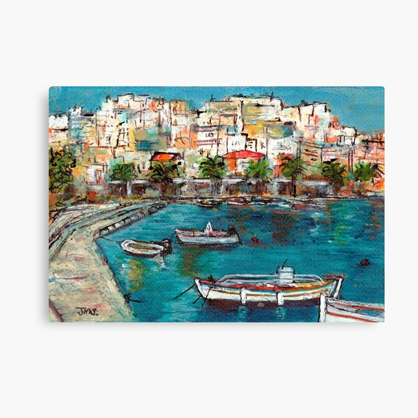 Sitia, Crete Canvas Print