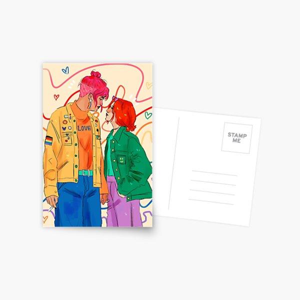 love is love is love is love is love Postcard