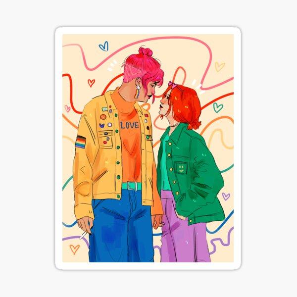 Liebe ist Liebe ist Liebe ist Liebe ist Liebe Sticker