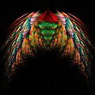 Wings fractal art by JBJart
