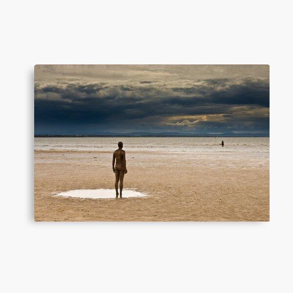 Crosby Beach - Anthony Gormley Statues  Canvas Print