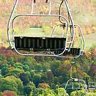Tallisman Ski lift by Heather Crough