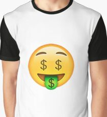 Money Emoji Graphic T-Shirt