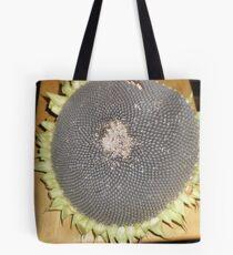 Sunflower Seed Pod Tote Bag