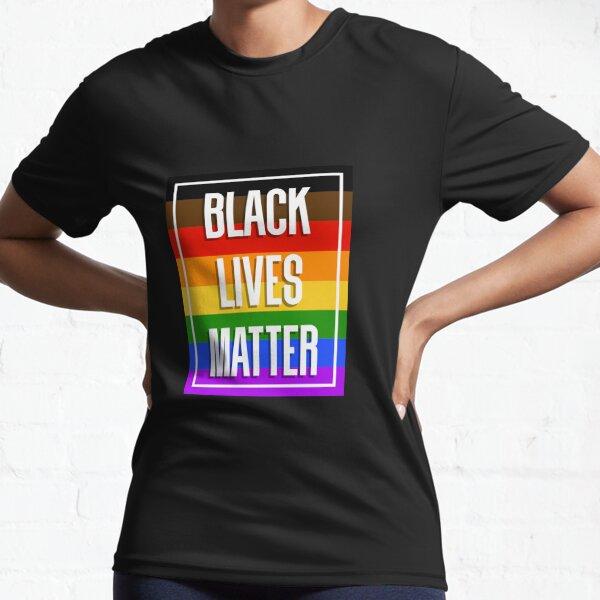 BLM - POC rainbow Active T-Shirt