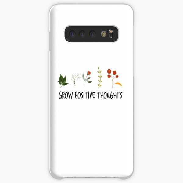 grow positive thoughts Sticker Samsung Galaxy Snap Case