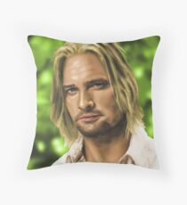 James 'Sawyer' Ford Throw Pillow