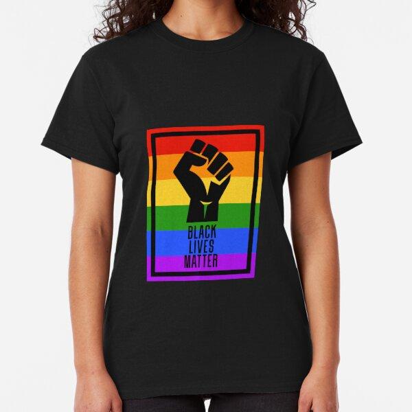 BLM fist - rainbow2 Classic T-Shirt