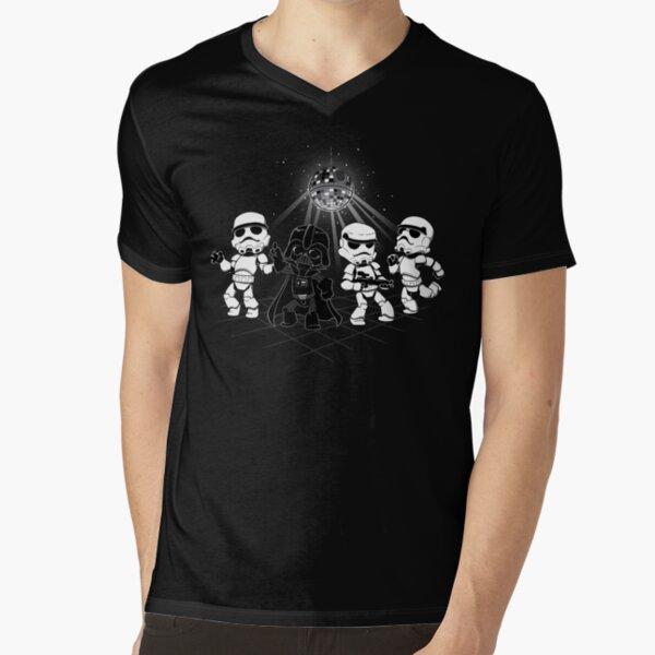 Dark Side Disco Dancing V-Neck T-Shirt