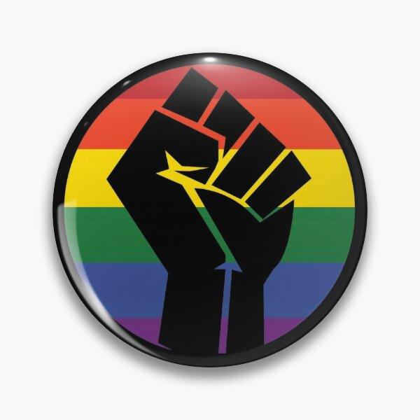 BLM LGBTQ Badge: Gay Pin