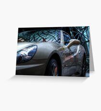 Reflections of Speed Greeting Card