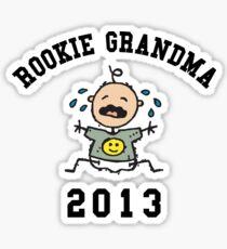 Funny New Grandma 2013 Sticker