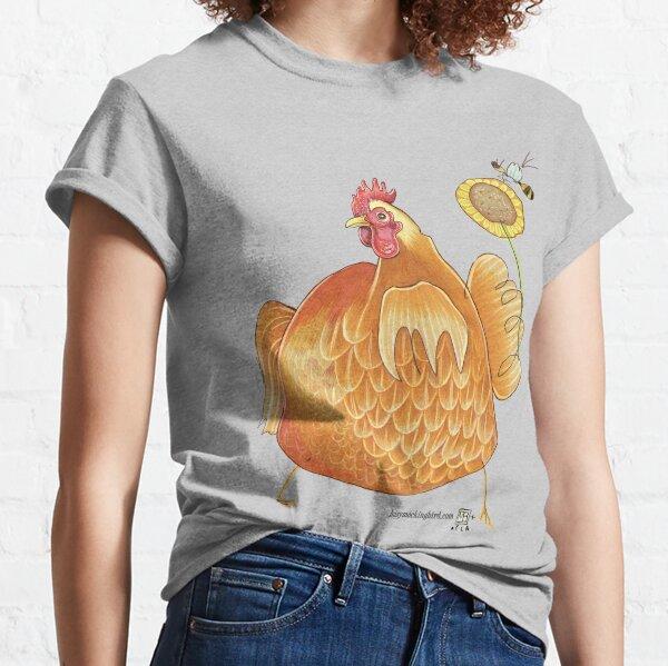Sunflower Hen Classic T-Shirt