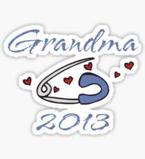 New Grandson 2013 Sticker