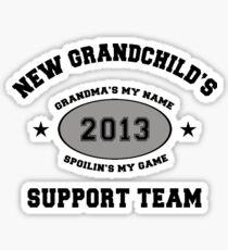 New Grandchild 2013 Sticker