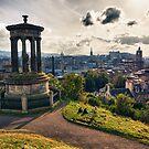 Edinburgh Cityscape by Abtin Eshraghi