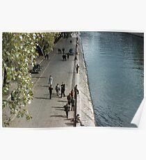 Bank of Seine Ile de la Cite 19610416 0143 Poster
