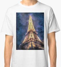 Eiffel Tower Night Classic T-Shirt
