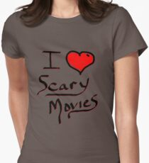 i love halloween scary movies  T-Shirt