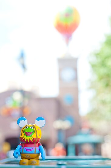 Muppet 3D Vinylmation in Hollywood Studios by stitzerb