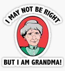Grandma Sticker