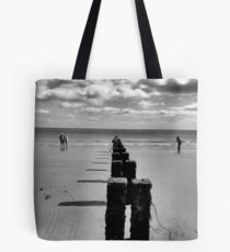 Bridlington beach Tote Bag