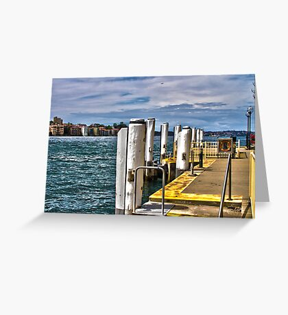 Docks Greeting Card