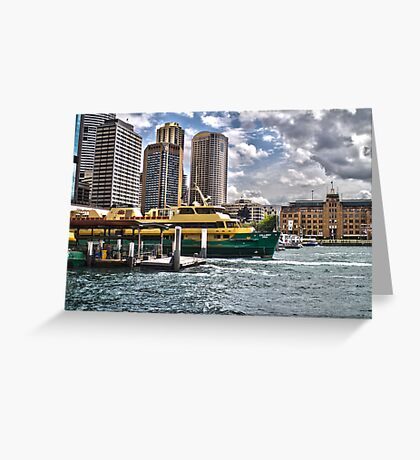 Sydney Harbor Ferry Greeting Card