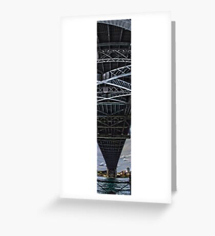 Sydney Harbor Bridge Panorama Greeting Card